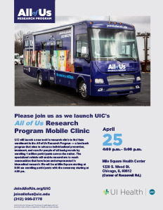Visit Our Mobile Research Clinic at MSHC | UI Health
