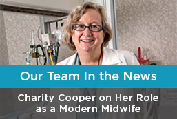 Charity Cooper on Her Role as a modern Midwife