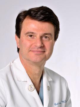 Dr. Humberto Scoccia, director of the Division of Reproductive Endocrinology & Infertility