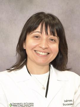 Zahraa Hajjiri, Transplant | UI Health