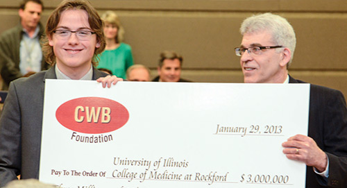Rockford Campus Gets 3 million gift to study Cell Regeneration