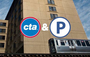 CTA Public transportation and UI Health Parking