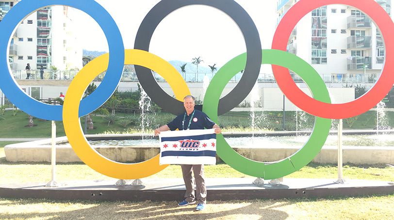 Dr. Mark Hutchinson in Rio for the Olympics 2016