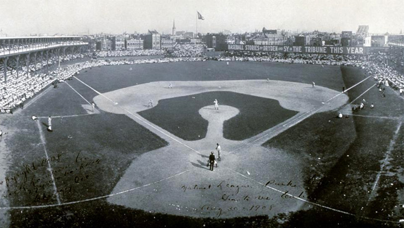 Chicago Cubs Former West Side Grounds