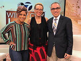 Brain Aneurysm Program, Dr. Fady Charbel featured on 'Windy City Live'