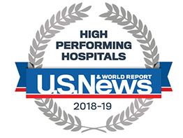 Cancer Services, Nephrology Programs Recognized as 'High Performing' by U.S News & World Report