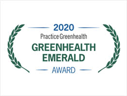 UI Health Receives Practice Greenhealth Emerald Award
