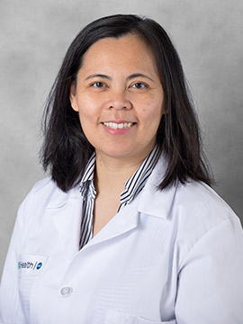 Nina Pagaduan, Nurse Practitioner, Hematology & Oncology