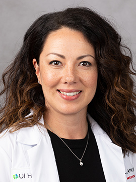 Jennifer Pollandt, nurse practitioner, Cardiology