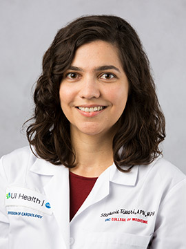Stephanie Tiwari, nurse practitioner, Cardiology